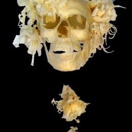 """""""Crâne aux fleurs"""""""