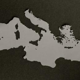 Carte de la ...Méditerrannée